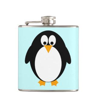 Cute Penguin Hip Flask
