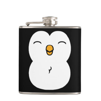 Cute Penguin Hip Flask
