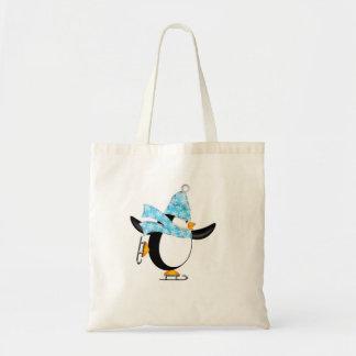 Cute Penguin Ice Skates Bag