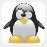 Cute Penguin in a Tux Sticker