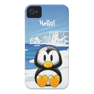 Cute Penguin iPhone 4 Covers