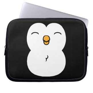 Cute Penguin Laptop Sleeve