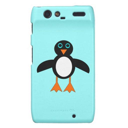 Cute Penguin Motorola Case Droid RAZR Case