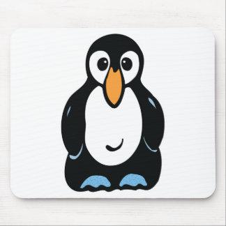cute penguin mouse mat