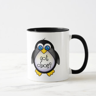 Cute Penguin Music Got Oboe Mug