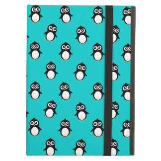 Cute penguin pattern iPad air case