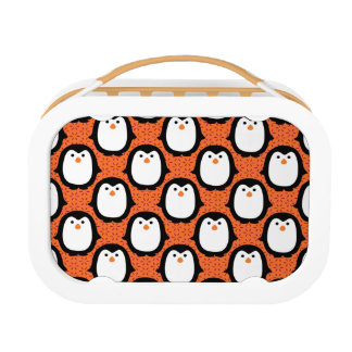 Cute Penguin Pattern Skin Lunch Box