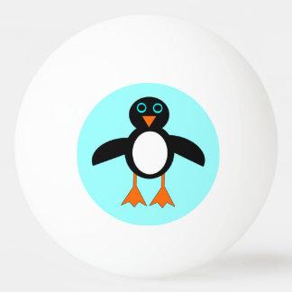 Cute Penguin Ping Pong Ball