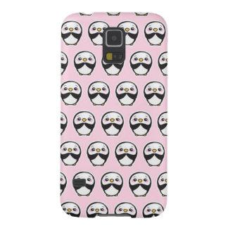 Cute Penguin (Pink) Galaxy S5 Phone Case