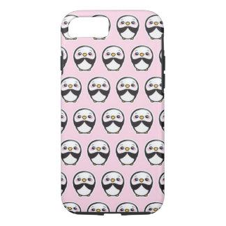 Cute Penguin (Pink) iPhone 7 Phone Case