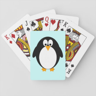 Cute Penguin Playing Cards
