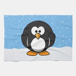 Cute Penguin Tea Towel