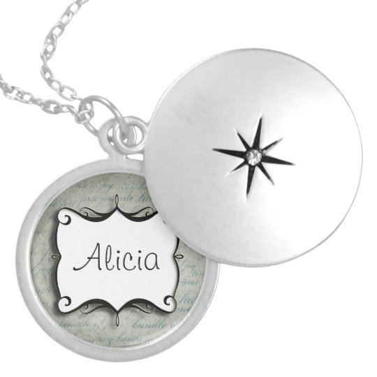Cute Personalised Custom Name Necklace