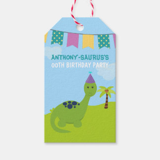 Cute Personalised Dinosaur themed Party