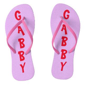 Cute Personalised Flip Flops