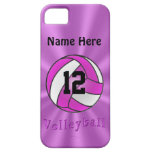 Cute Personalised iPhone 5S Volleyball Cases