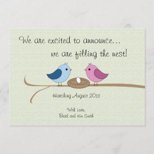 pregnancy announcement cards zazzle uk