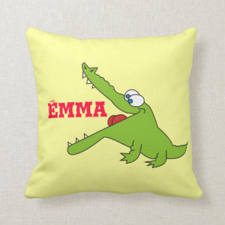 Cute Personalized Alligator Pillow Cushions