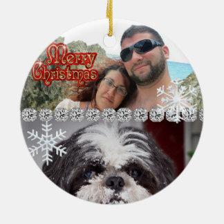 Cute Personalized Custom Ornament 2014