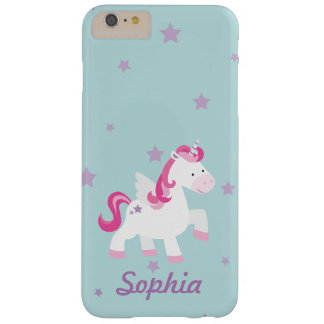 Cute Personalized Magical Unicorn Phone Case Barely There iPhone 6 Plus Case