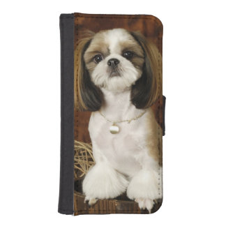 Cute Pet Animal iPhone SE/5/5s Wallet Case