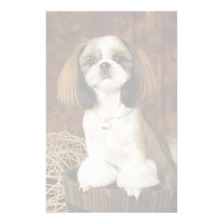 Cute Pet Animal Personalized Stationery