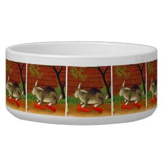 Cute Pet Bunny Rabbit Food Bowl Pet Food Bowl