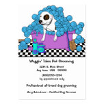Cute Pet Grooming Business And Appointment Card Pack Of Chubby Business Cards