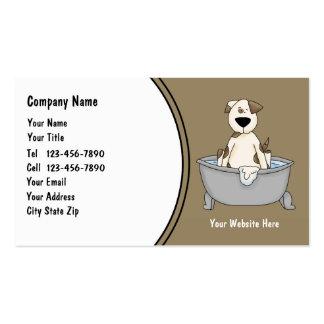 Cute Pet Service Business Cards