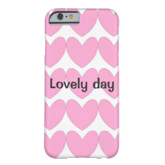 Cute phone case with happy design