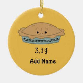 Cute Pi Day 3.14 Christmas Ornament