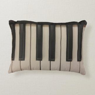 Cute Piano Keys Design Decorative Cushion