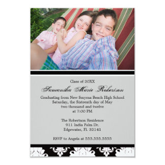 Cute Picture Graduation Party Invite