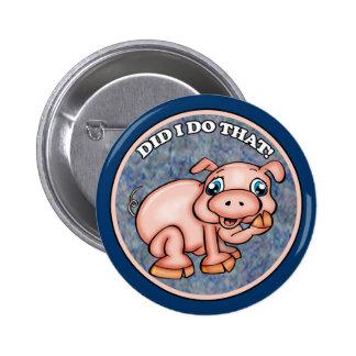 Cute Pig Buttons