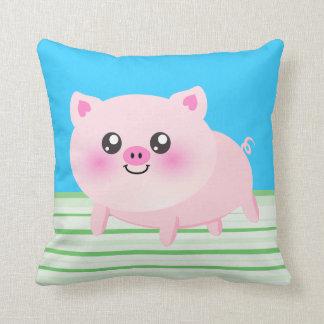 Cute pig cartoon cushion