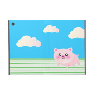 Cute pig cartoon iPad mini cover