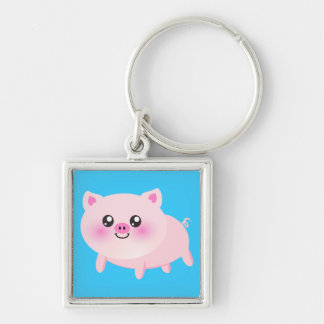 Cute pig cartoon key chain