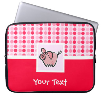 Cute Pig Computer Sleeves
