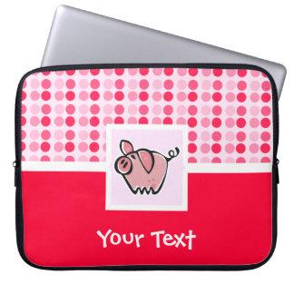 Cute Pig Computer Sleeves