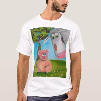 cute pig cow daisy chain T-Shirt