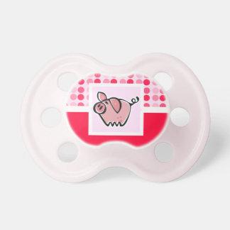 Cute Pig Pacifiers