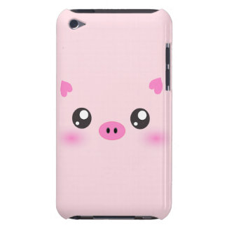 Cute Pig Face - kawaii minimalism iPod Touch Covers