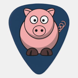 Cute Pig Guitar Pick