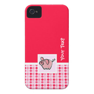 Cute Pig iPhone 4 Case-Mate Case