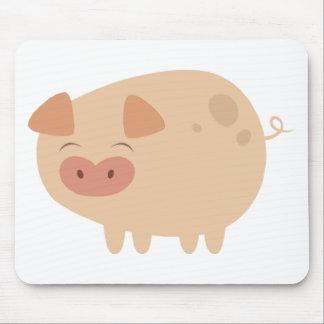 Cute Pig Mousepad