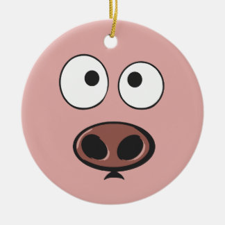 Cute Pig Ornament