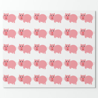 CUTE PIG PATTERN Wrapping Paper