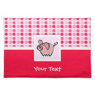 Cute Pig Place Mat