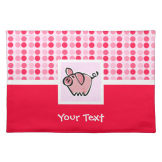 Cute Pig Placemat