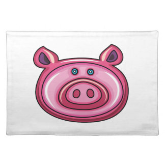 Cute Pig Placemats